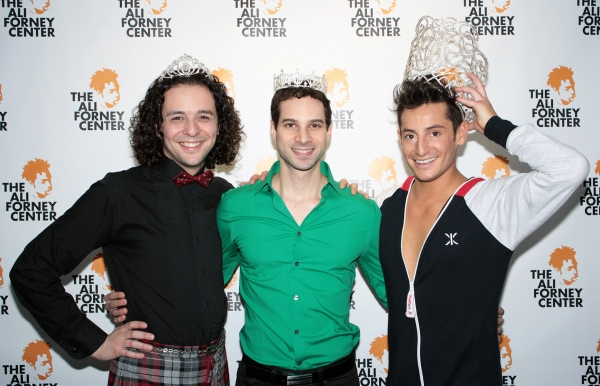 Anthony Hollock, Michael Cusumano, Frankie James Grande at 2012 Broadway Beauty Pageant Arrivals! Tovah Feldshuh & More