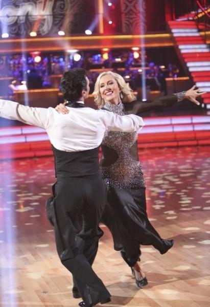 Tony Dovolani & Martina Navratilova at Premiere of DANCING WITH THE STARS Season 14