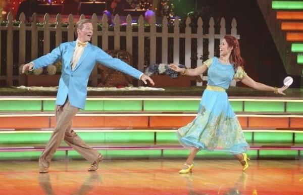 Jack Wagner & Anna Trebunskaya at Premiere of DANCING WITH THE STARS Season 14