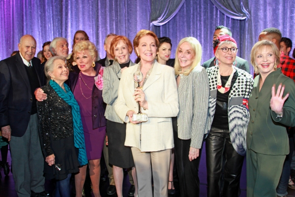 Carl Reiner, Marge Champion, Dick Van Dyke, Mitzi Gaynor, Carol Burnett, Dame Julie Andrews, Joni Berry, Rita Moreno and Florence Henderson at GREY'S ANATOMY: THE SONGS BENEATH THE SHOW Benefits the Actors Fund