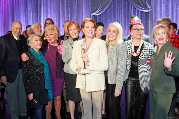 Carl Reiner, Marge Champion, Dick Van Dyke, Mitzi Gaynor, Carol Burnett, Dame Julie Andrews, Joni Berry, Rita Moreno and Florence Henderson