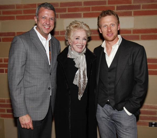 Keith McNutt, Holland Taylor and Kevin McKidd at GREY'S ANATOMY: THE SONGS BENEATH THE SHOW Benefits the Actors Fund