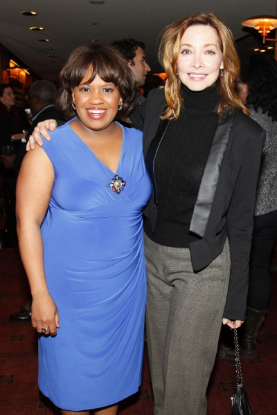 Chandra Wilson and Sharon Lawrence at GREY'S ANATOMY: THE SONGS BENEATH THE SHOW Benefits the Actors Fund