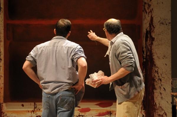 John Brummer and David Chandler   at Berkley Rep Presents RED, 3/22 - 4/29