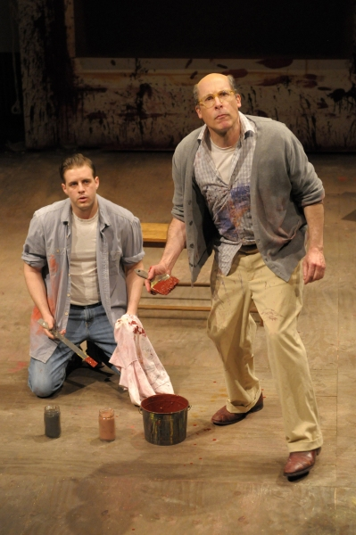 John Brummer and David Chandler   at Berkley Rep Presents RED, 3/22 - 4/29