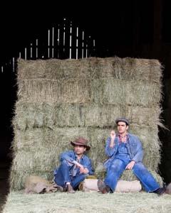 "Jos Viramontes as ""George"" and AJ Meijer as ""Lennie"""