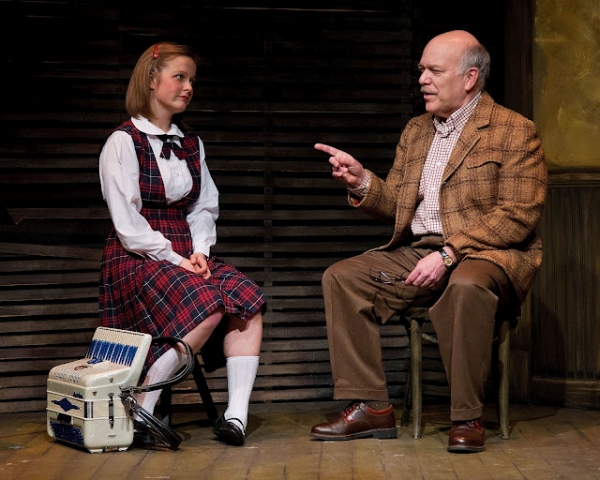 Rosebud Baker as Mary Margaret Irzandowsky & Scott Robertson as George Hollewinski