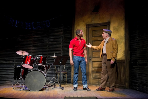 Royce Johnson as Luigi Wells, and Scott Robertson as George Hollewinski