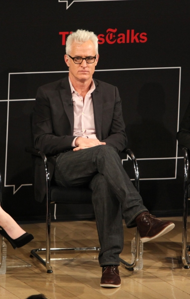 John Slattery  at TimesTalks - A Conversation with MAD MEN