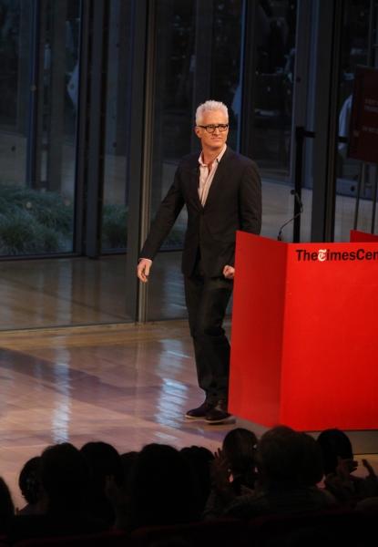 John Slattery  at TimesTalks - A Conversation with MAD MEN