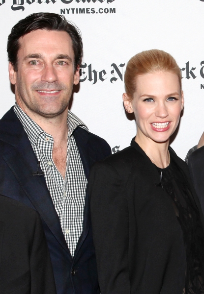 Jon Hamm, January Jones Photo