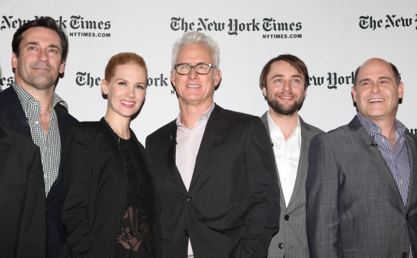 Jon Hamm, January Jones, John Slattery, Vinceny Kartheiser & Matthew Weiner