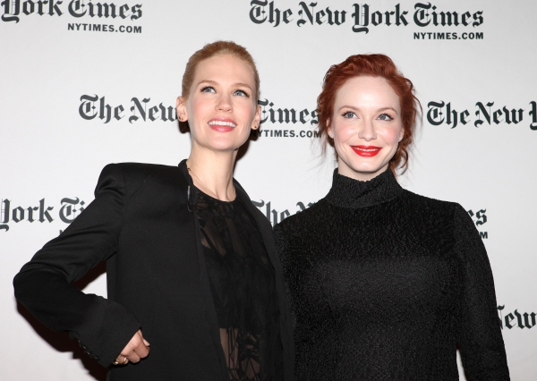 January Jones & Christina Hendricks Photo