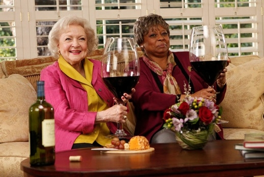 Betty White & Reatha Grey