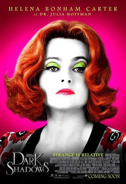Helena Bonham Carter at New Poster Art for DARK SHADOWS