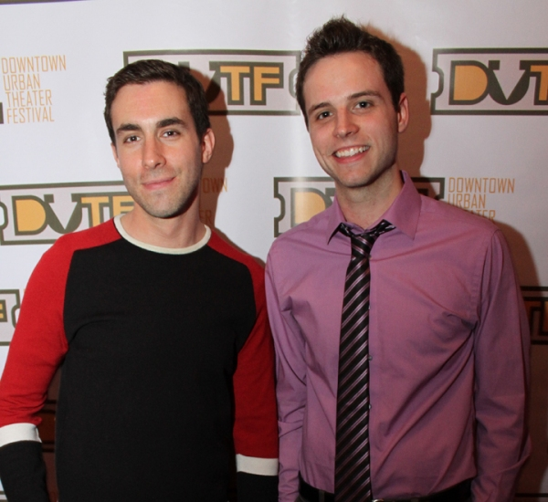 DUTF Playwrights Dan Heching and Matt Webster  Photo