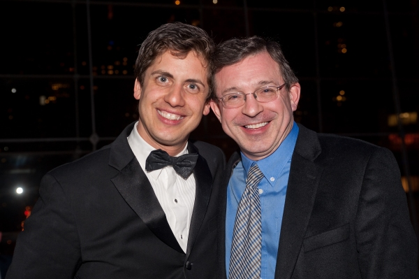 YPC Artistic Director/Founder Francisco J. Núñez with fellow composer William Cabaniss