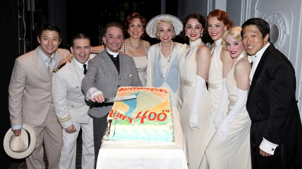 Robert Creighton, Joel Grey, Stephanie J. Block & Julie Halston, Jennifer Savelli, Br Photo