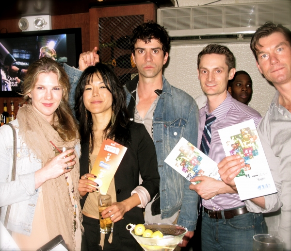 Lily Rabe, Hettienne Park, Hamish Linklater, Michael Robertson and Jerry O'Connell