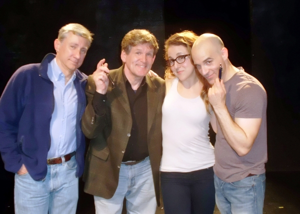 David Garrison, Anthony Heald, Jenn Harris and Harry Bouvy