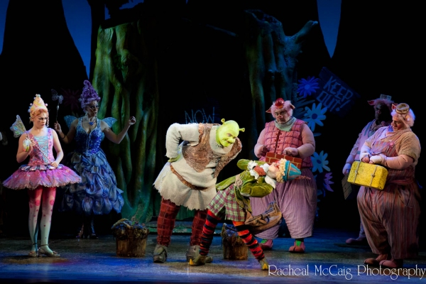Photo Coverage: Let Your Freak Flag Wave - SHREK Opens in Toronto