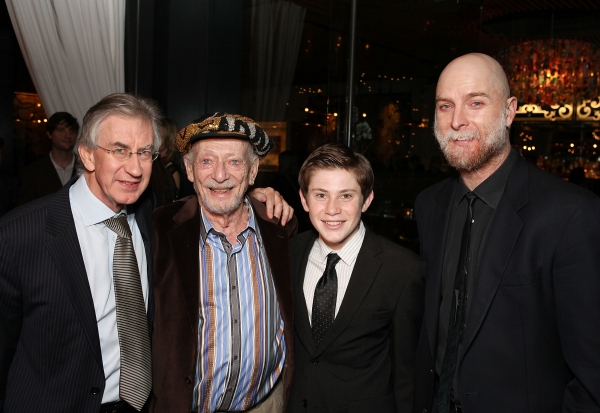 Cast members Barry McGovern, Alan Mandell, LJ Benet and Hugo Armstrong
