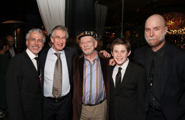Director Michael Arabian with cast members Barry McGovern, Alan Mandell, LJ Benet and Hugo Armstrong