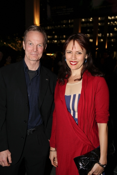 Bill Irwin and Emily Swallow