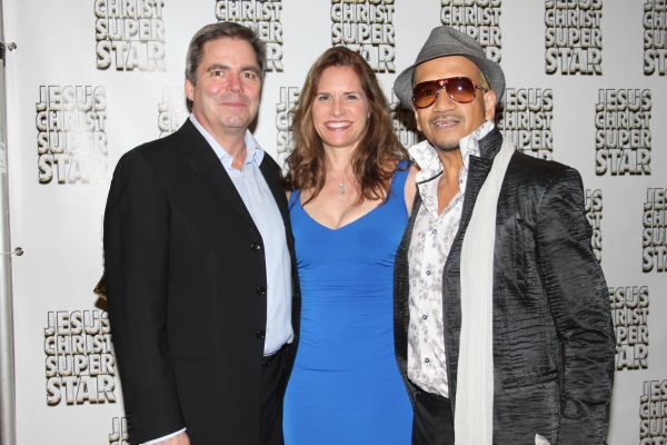 Rick Fox, Michelle Fox and Bobby Martino