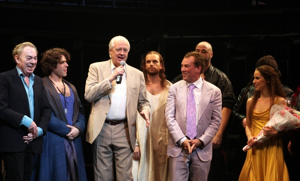 Andrew Lloyd Webber & Tim Rice with Josh Young, Paul Nolan, Director Des McAnuff, Chilina Kennedy & Company