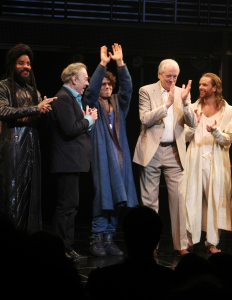 Andrew Lloyd Webber & Tim Rice with Marcus Nance, Josh Young & Paul Nolan