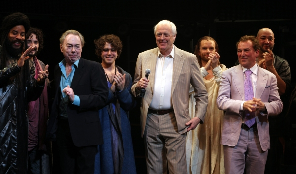 Andrew Lloyd Webber & Tim Rice with Josh Young, Paul Nolan, Director Des McAnuff & Company