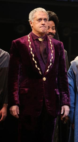 Tom Hewitt at JESUS CHRIST SUPERSTAR Opening Night Curtain Call!