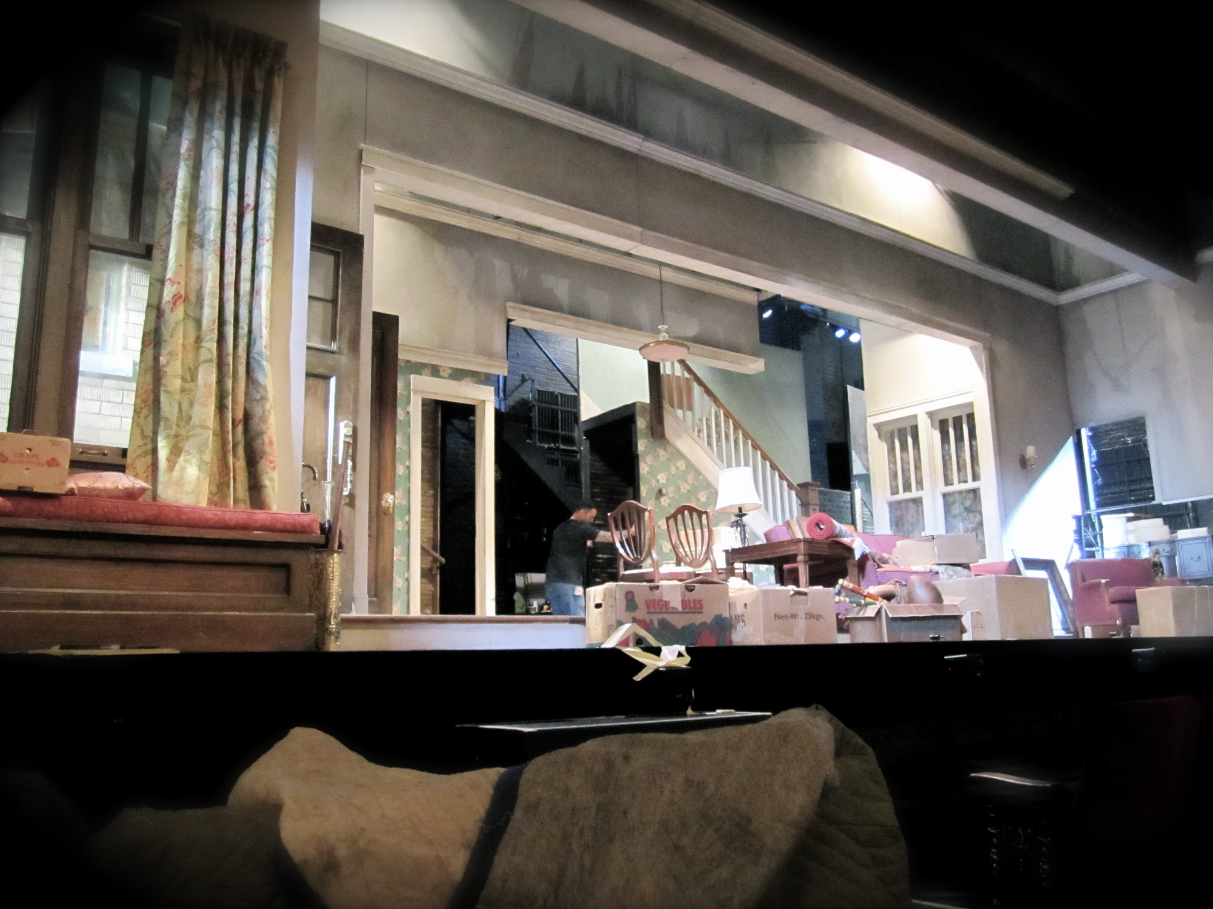BWW Exclusive Blog: CLYBOURNE PARK Behind the Scenes: Day 3 (Part 2)
