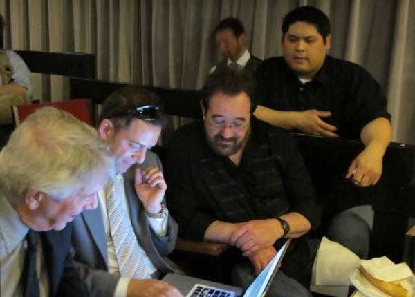 Jack Batman, Bruce Harris, Michael Lanning and Nicholas Cheng          Photo
