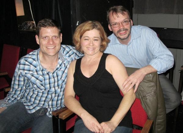 Victor Hernandez, Leslie Becker and Paul J. Smith                          Photo