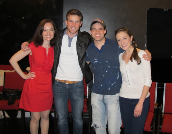 Photo Flash: Jeremy Jordan, Laura Osnes, et al. at BONNIE & CLYDE Listening Party!