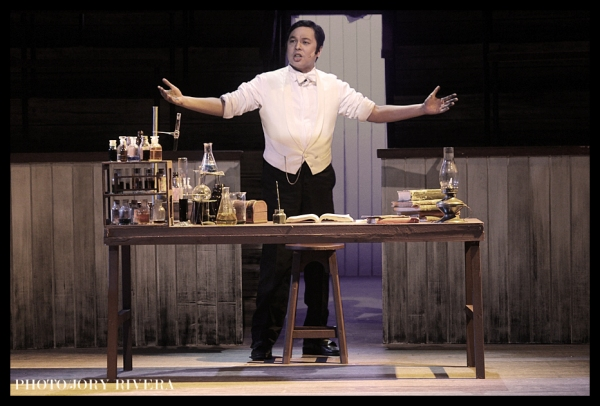 Jett Pangan at JEKYLL AND HYDE Opens in Manila