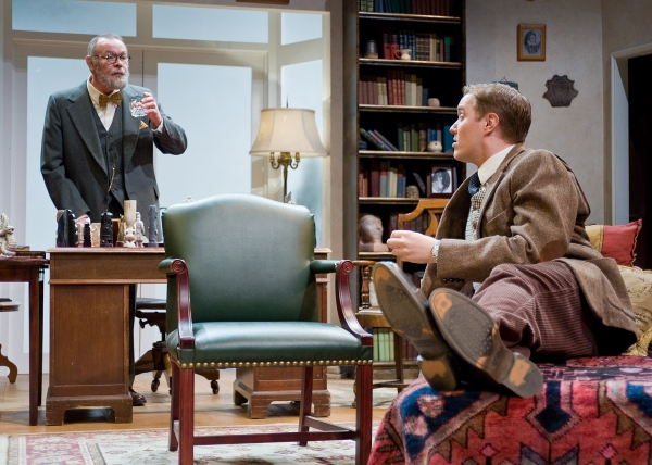Photo Flash: First Look Taproot Theatre's FREUD'S LAST SESSION