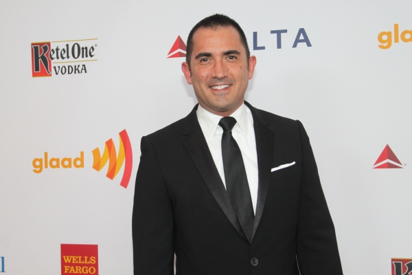 Mike Thompson at GLAAD Media Awards 2012