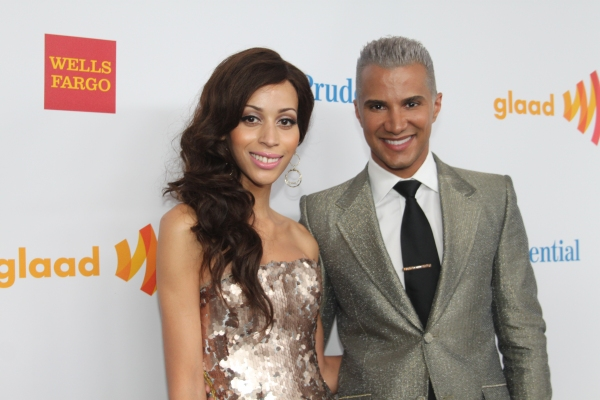 Isis King and Jay Manuel