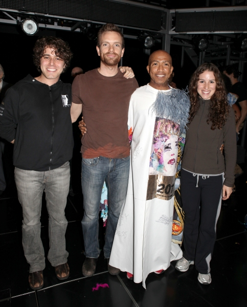 Josh Young, Paul Nolan, Mark Cassius & Chilina Kennedy  at  JESUS CHRIST SUPERSTAR - Gypsy Robe Ceremony
