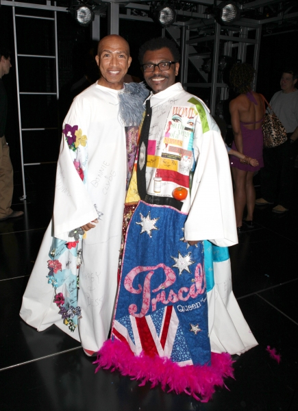 Mark Cassius & 'The Gershwins' Porgy & Bess' Recipient J.D. Webster at  JESUS CHRIST SUPERSTAR - Gypsy Robe Ceremony