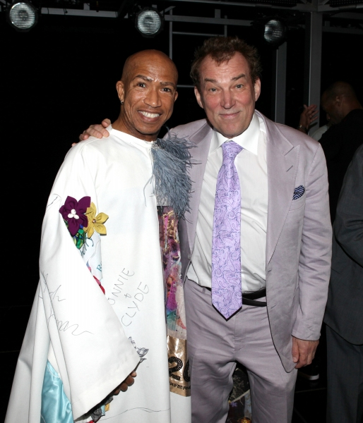 Mark Cassius & Director Des McAnuff attending at  JESUS CHRIST SUPERSTAR - Gypsy Robe Ceremony