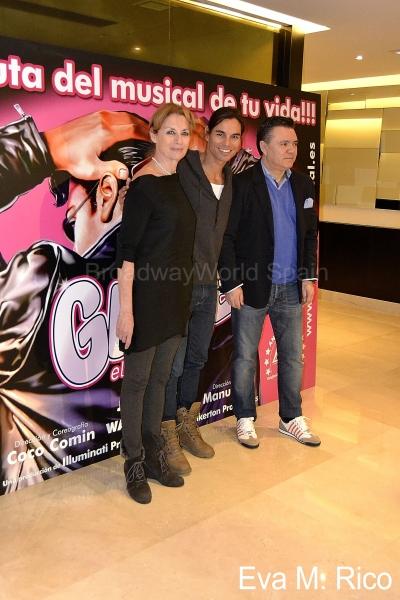 Coco Comin, Julio Iglesias Jr. y Joan Lluis Goas