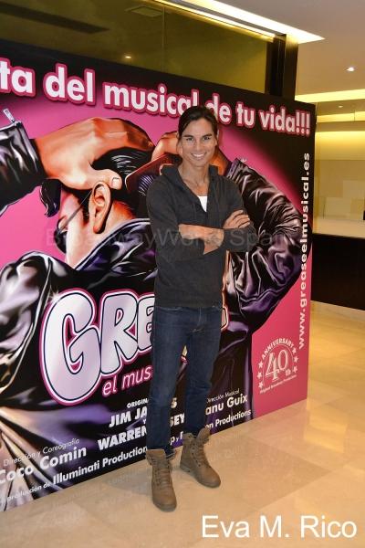 """Photo Flash: Presentación de Julio Iglesias Jr. como estrella invitada de """"Grease, el musical"""""""