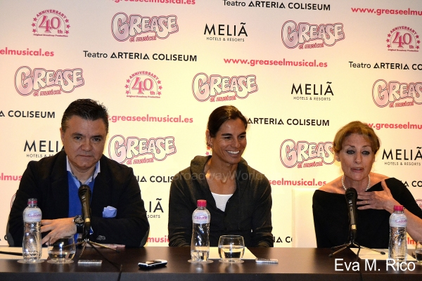 "Photo Flash: Presentación de Julio Iglesias Jr. como estrella invitada de ""Grease, el musical"""