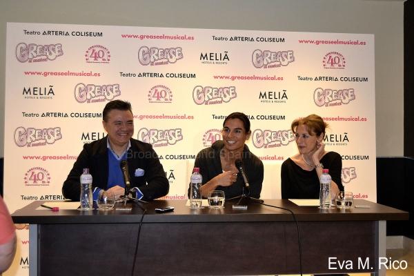 Joan Lluis Goas, Julio Iglesias Jr. y Coco Comin