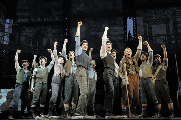 Newsies The Musical Production Photo