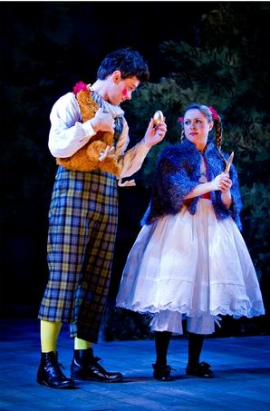 Justin Scott Brown and Dana Steingold at First Look at Danielle Ferland, Lauren Kennedy, et al. in Baltimore's INTO THE WOODS
